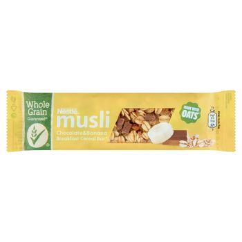 Nestlé Musli Batonik zbożowy z mleczną czekoladą i bananami 35 g