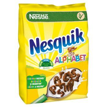 Nestlé Nesquik Alphabet Płatki śniadaniowe 460 g