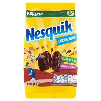 Nestlé Nesquik CocoaCrush Płatki śniadaniowe 150 g