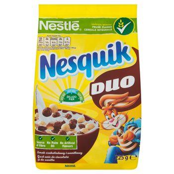 Nestlé Nesquik Duo Płatki śniadaniowe 225 g