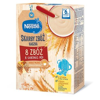 Nestlé Skarby Zbóż Kaszka 8 zbóż po 6. miesiącu 250 g