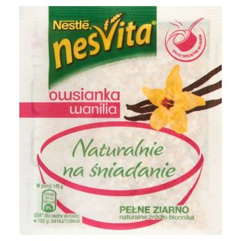 Nesvita Naturalnie na śniadanie Owsianka wanilia 35 g