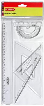 HERLITZ Komplet geometryczny (4 części)