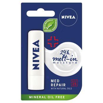 NIVEA Med Protect Pielęgnująca pomadka do ust 4,8 g
