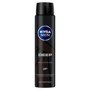 NIVEA MEN Deep Antyperspirant w aerozolu 250 ml