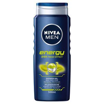 NIVEA MEN Energy Żel pod prysznic 500 ml
