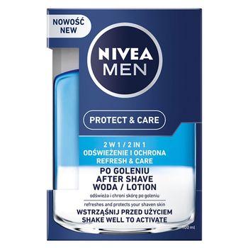 NIVEA MEN Protect & Care 2w1 Woda po goleniu 100 ml