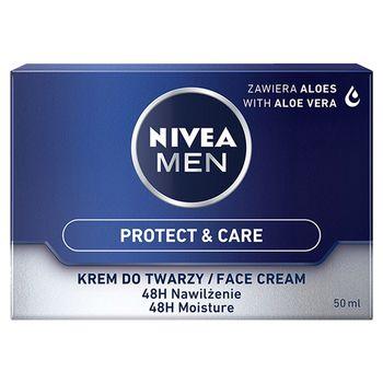 NIVEA MEN Protect & Care 48 h Nawilżający krem do twarzy 50 ml
