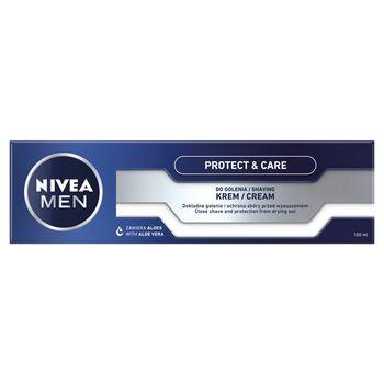 NIVEA MEN Protect & Care Pielęgnujący krem do golenia 100 ml
