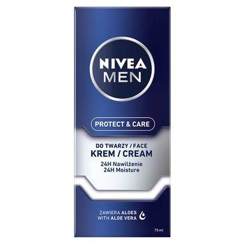 NIVEA MEN Protect & Care 24 h Nawilżający krem do twarzy 75 ml