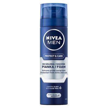 NIVEA MEN Protect & Care Pianka do golenia nawilżająca 200 ml