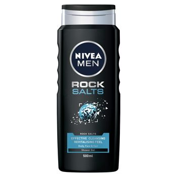 NIVEA MEN Rock Salts Żel pod prysznic 500 ml
