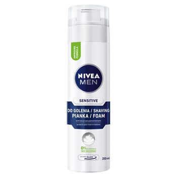 NIVEA MEN Sensitive Pianka do golenia 200 ml