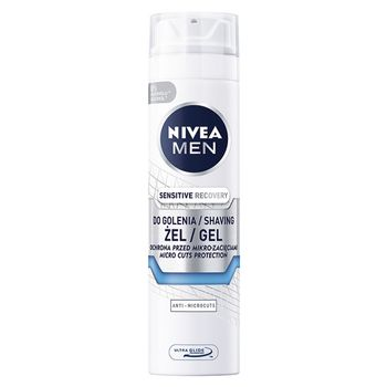 NIVEA MEN Sensitive Recovery Regenerujący żel do golenia 200 ml