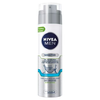 NIVEA MEN Sensitive Żel do golenia 3-dniowego zarostu 200 ml