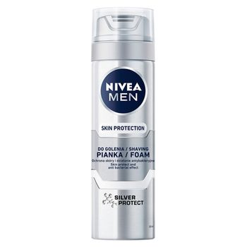 NIVEA MEN Silver Protect Pianka do golenia 200 ml