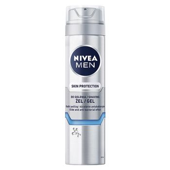 NIVEA MEN Silver Protect Żel do golenia 200 ml