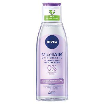 NIVEA MicellAir Skin Breathe Kojący płyn micelarny do cery wrażliwej i nadwrażliwej 200 ml