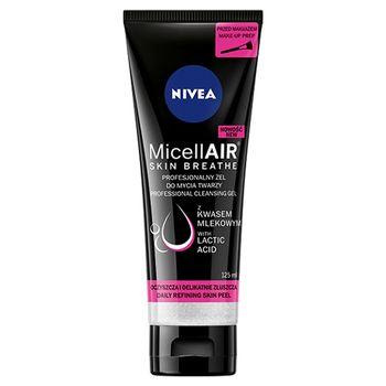 NIVEA MicellAir Skin Breathe Profesjonalny żel do mycia twarzy 125 ml