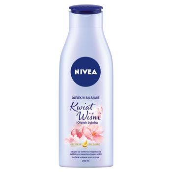 NIVEA Olejek w balsamie Kwiat Wiśni i Olejek Jojoba 200 ml