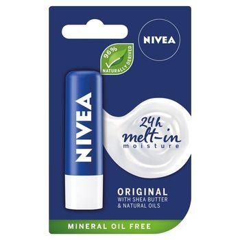 NIVEA Original Pielęgnująca pomadka do ust 4,8 g