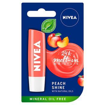 NIVEA Peach Shine Pielęgnująca pomadka do ust 5 g