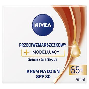 NIVEA Przeciwzmarszczkowy + Modelujący Krem na dzień SPF 30 65+ 50 ml