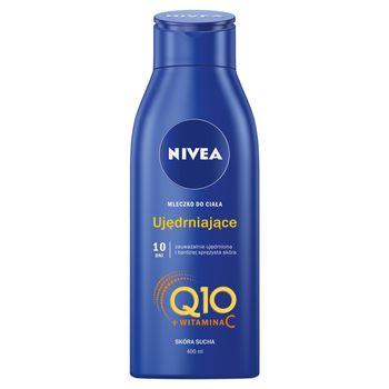 NIVEA Q10 Plus Ujędrniające mleczko do ciała skóra sucha 400 ml