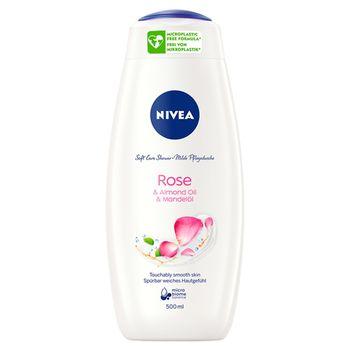 NIVEA Rose & Almond Oil Żel pod prysznic 500 ml
