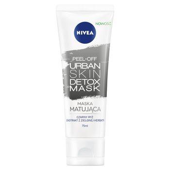 NIVEA Urban Skin Detox Maska matująca peel-off 75 ml