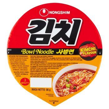 Nongshim Kimchi Flavour Pikantna zupa orientalna z makaronem 86 g