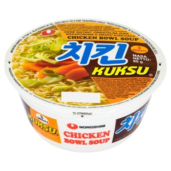 Nong Shim Kuksu Orientalna zupa makaronowa o smaku kurczaka 85 g