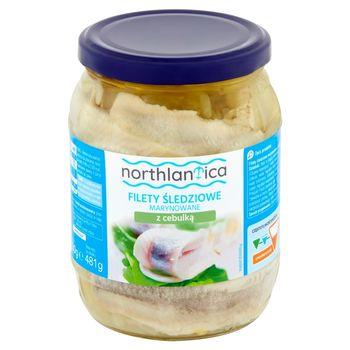 Northlantica Filety śledziowe marynowane z cebulką 650 g