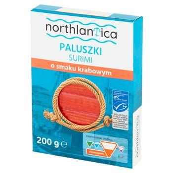 Northlantica Paluszki surimi o smaku krabowym 200 g (12 sztuk)