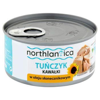 Northlantica Tuńczyk kawałki w oleju słonecznikowym 185 g