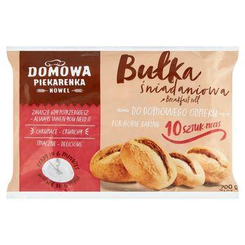 Nowel Domowa Piekarenka Bułka śniadaniowa 700 g (10 x 70 g)