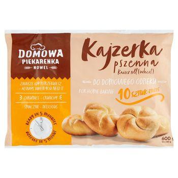 Nowel Domowa Piekarenka Kajzerka pszenna 600 g (10 x 60 g)