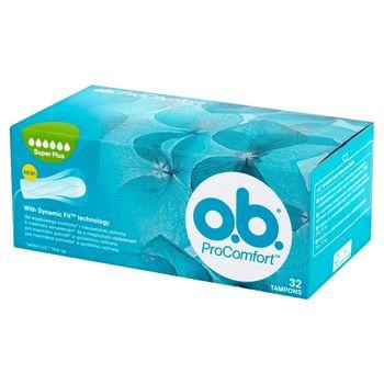 O.B. ProComfort Super Plus Tampony 32 sztuki