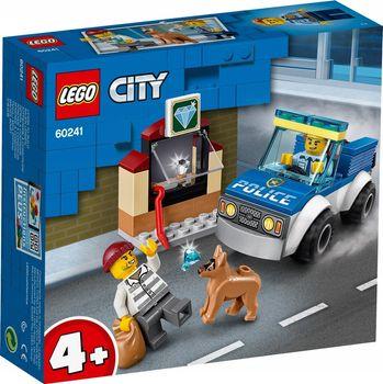 LEGO City klocki Oddział policyjny z psem 60241