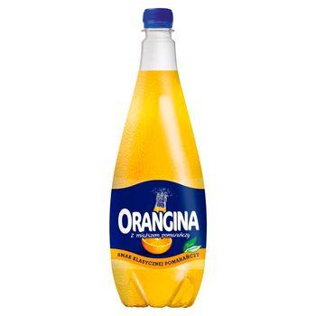 Orangina Napój gazowany smak klasycznej pomarańczy 1,4 l