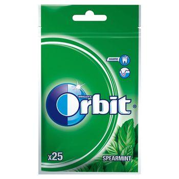 Orbit Spearmint Guma do żucia bez cukru 35 g (25 sztuk)