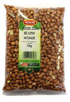 Orzeszki ziemne bez łupiny naturalne 1 kg