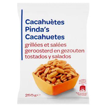 Orzeszki ziemne prażone solone 250 g
