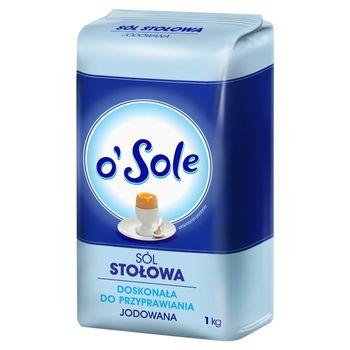 o'Sole Sól stołowa jodowana 1 kg