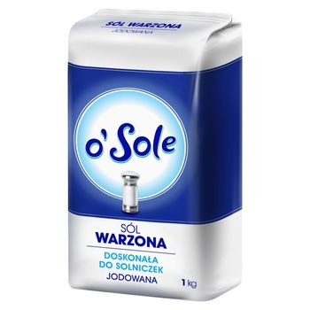 o'Sole Sól warzona jodowana 1 kg