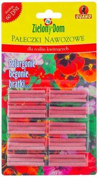 Pałeczki ZIELONY DOM Pałeczki nawozowe dla roślin kwitnących 30 szt.