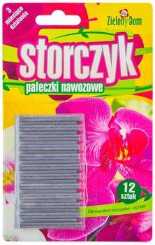 Pałeczki ZIELONY DOM Pałeczki nawozowe dla storczyków 12 szt.