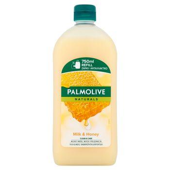 Palmolive Naturals Milk & Honey Mydło w płynie do rąk zapas 750 ml
