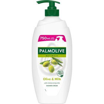 Palmolive Naturals Olive&Milk, kremowy żel pod prysznic mleko i oliwka 750 ml