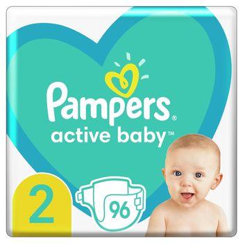 Pampers Active Baby, rozmiar2, 96pieluszek, 4kg-8kg